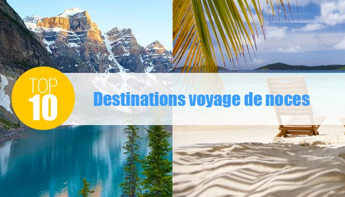 top 10 destinations voyage noces