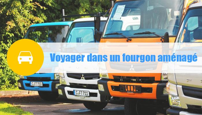voyage fourgon anénagé