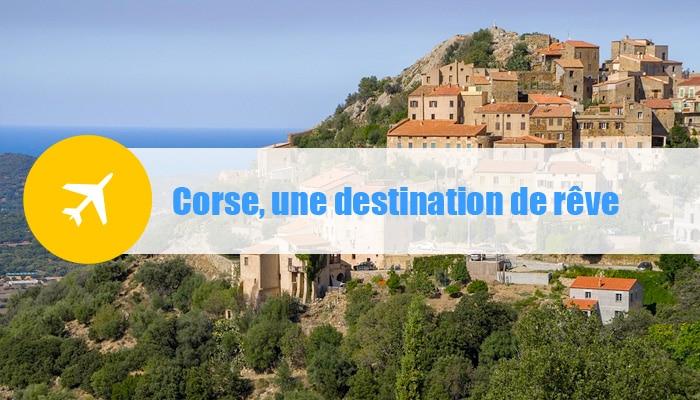 corse destination