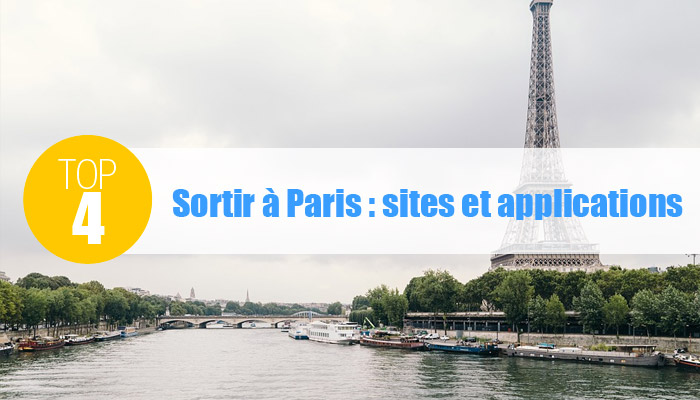 Applications sorties paris